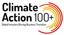 Climate Action 100+ロゴマーク