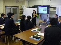 特別支援学校での実践授業